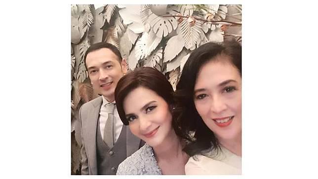 Cut Tari dan Richard Kevin resmi menikah hari ini Kamis (12/12/2019) dan resepsi dilakukan di Taman Kadjoe, Ampera, Jakarta Selatan. (Sumber: Instagram/@deecehasan)