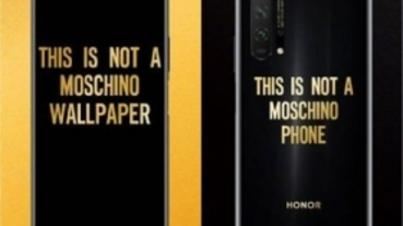 榮耀 20 Pro 推出 MOSCHINO 聯名版,7/2 中國大陸上市