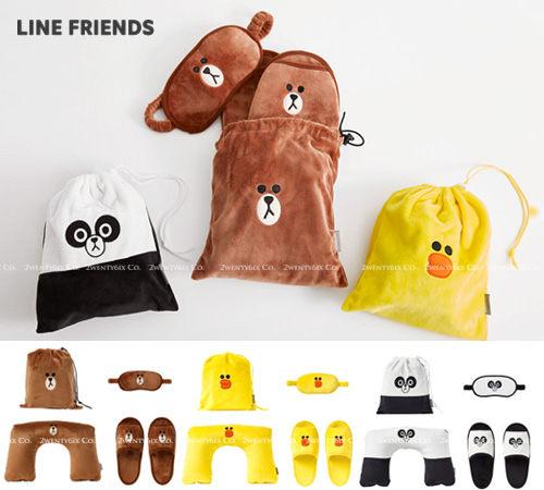 眼罩, 拖鞋, 收納袋, 頸枕n#送禮 #特別禮物 #交換禮物n100% 韓國空運正品 本店杜絕假貨
