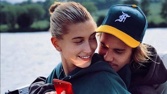 Justin Bieber dan Hailey Baldwin (instagram Hailey Baldwin)