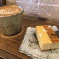 チーズケーキ - 実際訪問したユーザーが直接撮影して投稿した末盛通カフェカンノン コーヒー 本山の写真のメニュー情報