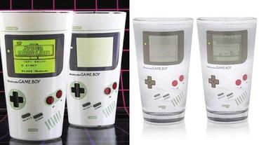 每個男人都忍不住把它倒滿滿的 《任天堂 Game Boy 變色水杯》