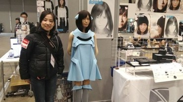 超仿真機器人 Asuna 驚艷眾人 網友:日本男人應該會成為第一個跟機器交往的人類