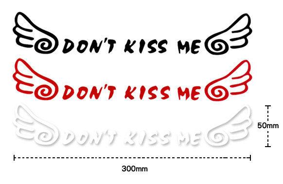 保持距離之告示標語!!可愛圖樣,貼於愛車上成為注目的焦點喔。貼哪都好看~