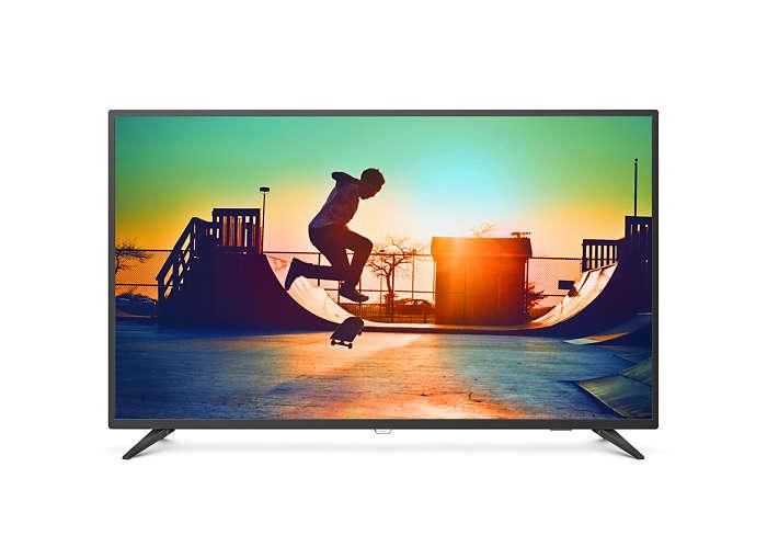 飛利浦大型智慧型顯示器55PUH6183/96 (55吋 4K Ultra HD LED) 4K LED電視,福利品不介意者再下單。人氣店家松本清本舖的家電產品 、飛利浦小家電專區有最棒的商品。快到日