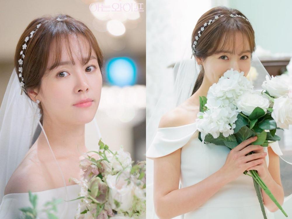 韓智旼《認識的妻子》婚紗