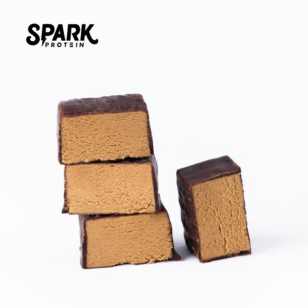 [現貨] Spark Bite 高蛋白巧克力18入盒裝 - 濃粹摩卡口味 | Mini 蛋白棒 | 飽足感高蛋白營養零食