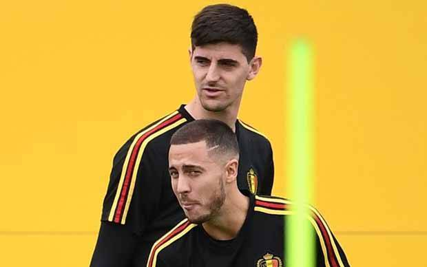 Courtois: Real Madrid Lebih Asik Kalau Ada Hazard