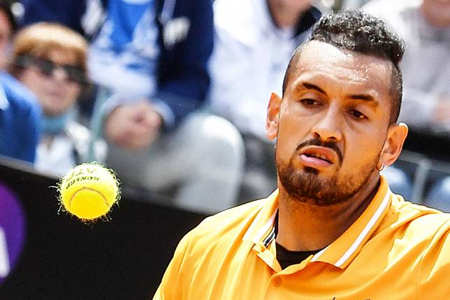 Outspoken Australian Nick Kyrgios questioned Dominic Thiem's intellect Wednesday after the world number three told him to stop criticizing fellow tennis stars Alexander Zverev and Novak Djokovic for taking risks with the coronavirus.