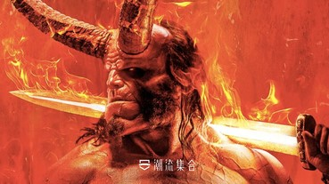 新版電影《Hellboy》「地獄怪客」造型再度曝光!