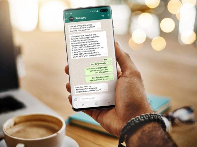 Stay At Home, Samsung Siap Jemput Smartphone Konsumen yang Rusak