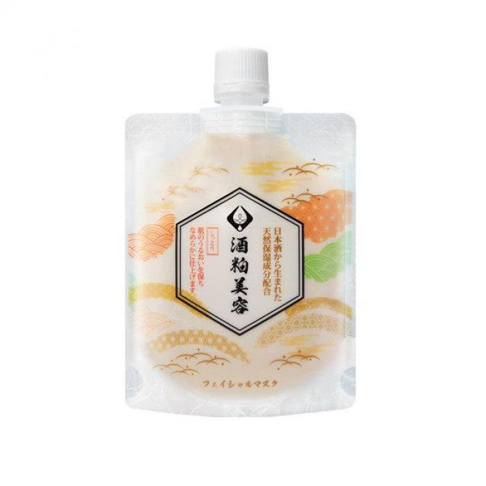 日本 美島水肌 酒粕面膜 120g