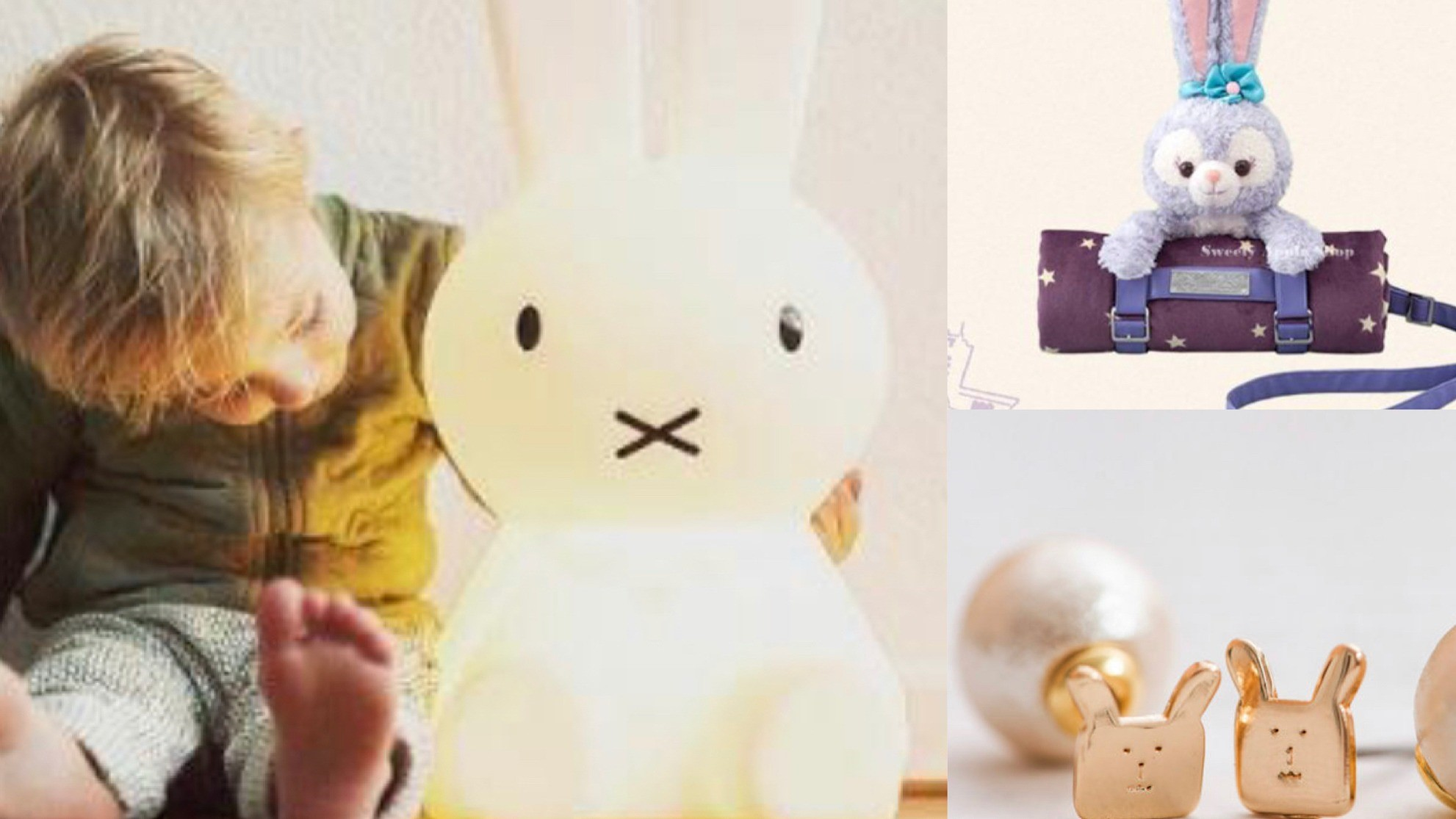 CRAFTHOLIC宇宙人、史黛拉兔、彼得兔、米菲兔一次看!