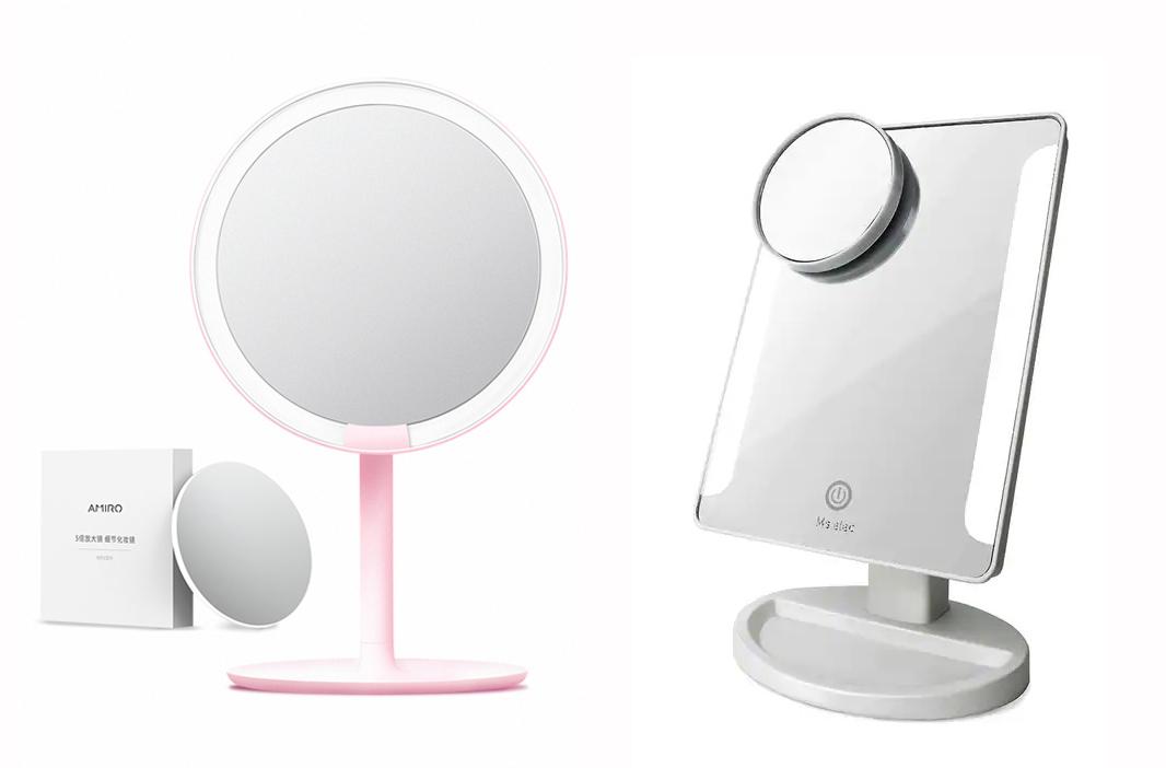 LED 桌上化妝鏡 Top 5人氣排行榜!2021年最新優惠推薦
