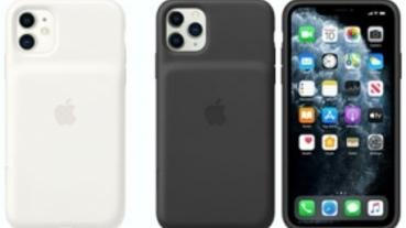 有獨立快門鍵,iPhone 11 系列的聰穎電池護殼上架