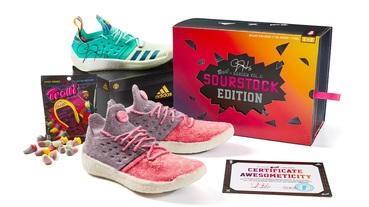 真的跟球鞋一樣大! / 糖果品牌 Trolli 與 Stock X 推出 adidas Harden Vol.2 Life-Size 造型軟糖