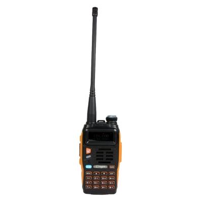 雙段 雙顯 雙頻 雙守冷光液晶顯示,防滑設計 日本功率晶體,A/B CH 獨立操作雙音多頻 DTMF 編碼FM 收音機快捷菜單操作模式緊急報警呼叫功能