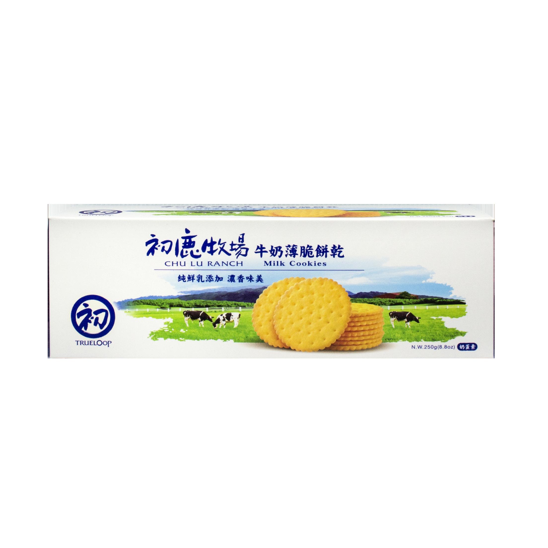 初鹿牧場 牛奶薄脆餅乾- 單盒裝【台東專區】