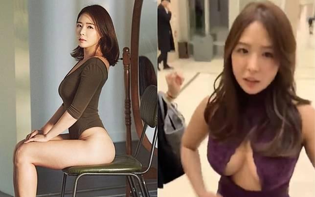 ▲李素熙以甜美臉蛋、魔鬼身材紅到台灣。(圖/IG、YouTube)