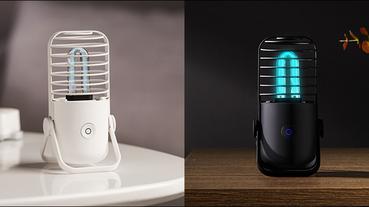 小米有品小達殺菌消毒燈 眾籌推出:新型冠狀病毒對紫外線敏感,居家防疫傳染開始