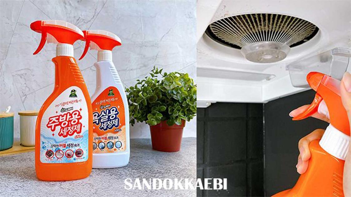 提高你的清潔效率!韓國 SANDOKKAEBI 山鬼怪