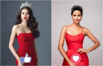 Đã đến lúc Phạm Hương nhường ngôi 'Hoa hậu quốc dân' cho H'Hen Niê?
