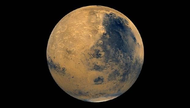 Planet Mars. Foto: NASA