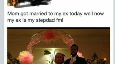 最強報復! 這個男人竟然娶了前女友的媽媽...10 個超尷尬的傻眼瞬間
