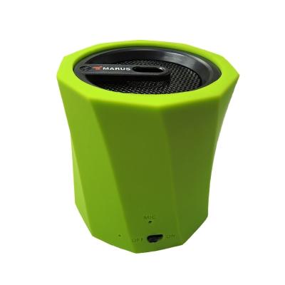 無線藍牙傳輸/Line In/micro sd卡三種連接方式重低音音響效果,適合音樂共賞分享音樂,自由無線表面特殊橡膠漆,像絨布般綿密搭配手機可做免持通話