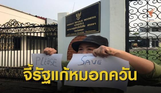 จี้รัฐบาลไทยกดดันรัฐบาลอินโดนีเซียแก้ปัญหาไฟไหม้ป่า