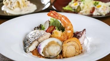 慕軒飯店GUSTOSO海鮮套餐酬賓優惠中!11月底前第二套免費