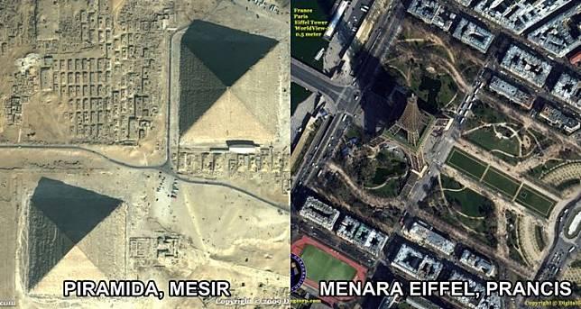 ™  Begini Penampakan 10 Landmark Dunia Saat Dipotret Menggunakan Satelit