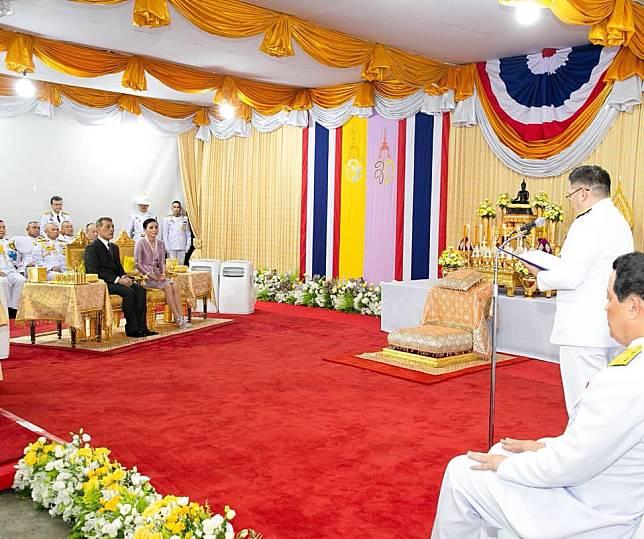 พระบาทสมเด็จพระเจ้าอยู่หัว และสมเด็จพระนางเจ้าฯ พระบรมราชินีเสด็จพระราชดำเนินไปทรงเปิด พิพิธภัณฑ์เหรียญกษาปณานุรักษ์