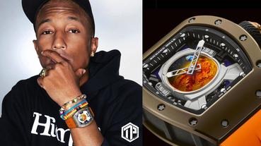 Pharrell Williams x Richard Mille 聯乘腕錶曝光!