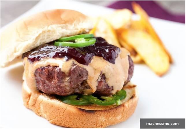 burger dan selai kacang