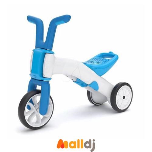 比利時Chillafish Bunzi 二合一寶寶平衡車-海水藍