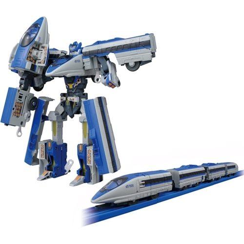 新發售新幹線變形機器人登場n火車依舊可搭配軌道使用 nPLARAIL全新進化