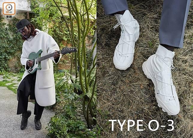 繼9月份TYPE O-1及10月份TYPE O-2兩個聯名鞋款先後登場過後,今個11月雙方就推出聯名合作最終章TYPE O-3。(互聯網)