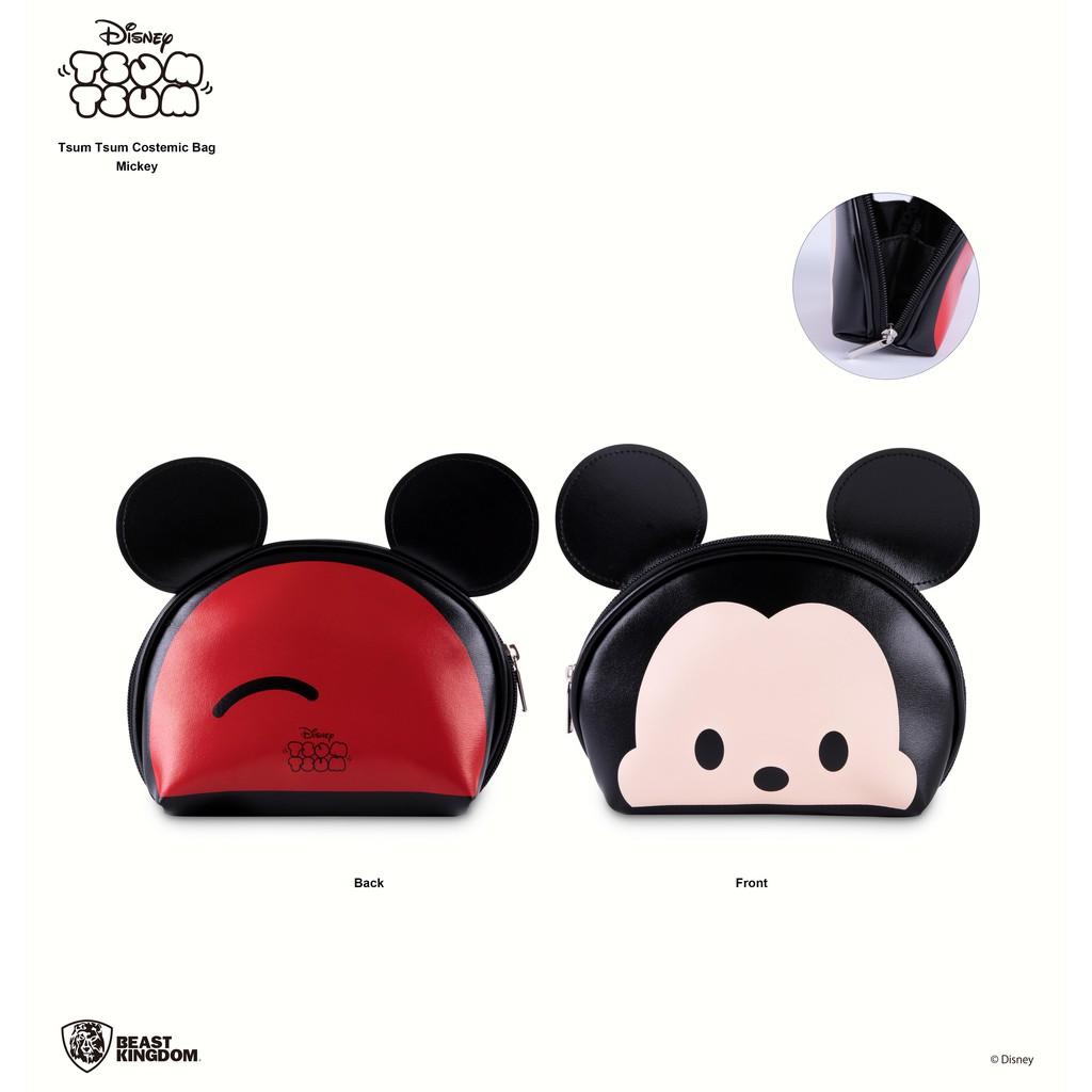 *迪士尼正版授權電影商品 *可愛的立體耳朵大頭造型包 *內側有檔片設計,防止小東西撒出 *大空間可做化妝包、手機包、手拿包使用