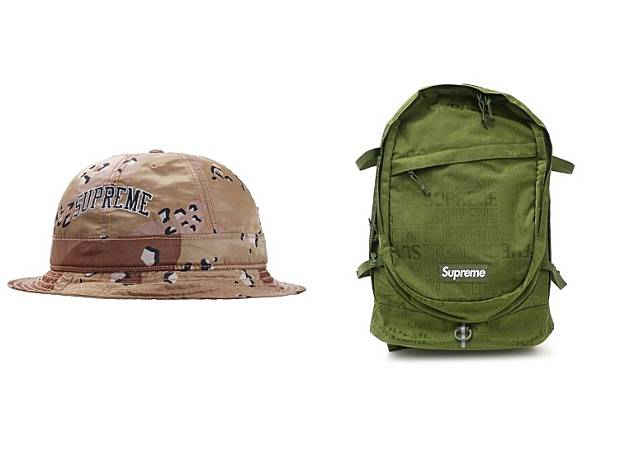 Supreme x Levi's Nylon Bell Hat、Backpack(互聯網)