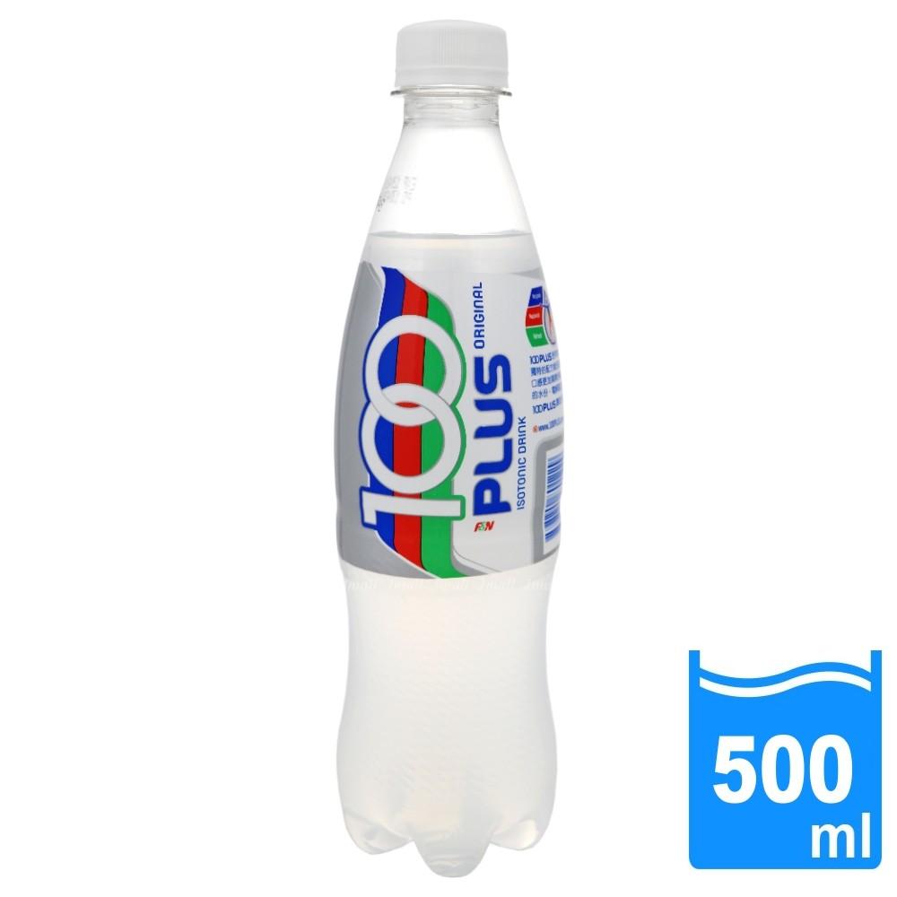 【100PLUS】氣泡運動飲料(500ml/瓶)