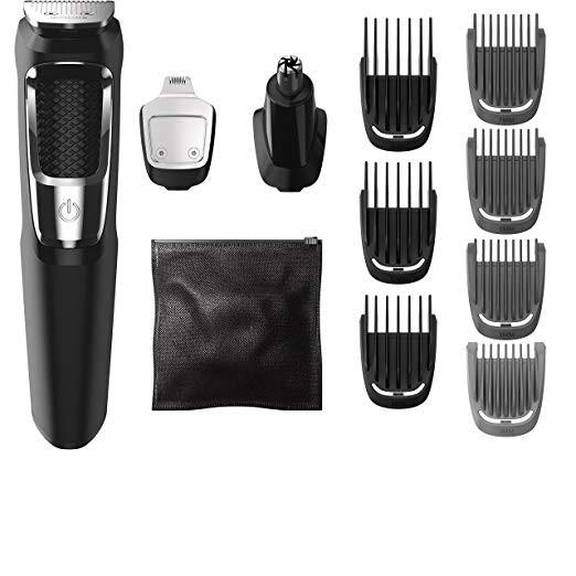美國代購 Philips Norelco 飛利浦 13 合一修髮美容組 MG3750 電動剪髮器