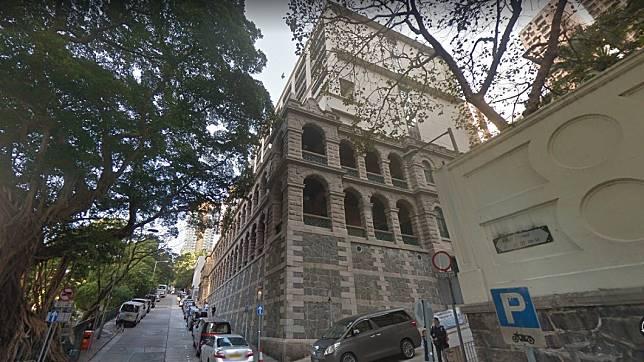西營盤社區綜合大樓有「高街鬼屋」之稱。圖/翻攝自Google Map網站