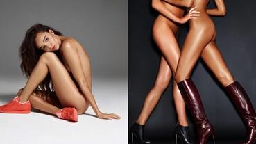 賣鞋還是賣肉?為什麼鞋子廣告都要用全裸模特兒