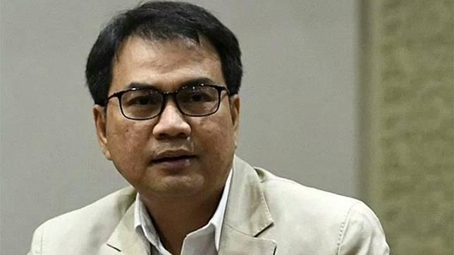 Wakil Ketua DPR RI Azis Syamsuddin. (ANTARA/Puspa Perwitasari)