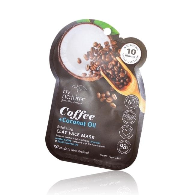 原森之美去角質煥膚面膜乳12gm(咖啡椰子油)10分鐘趕走疲憊促進代謝