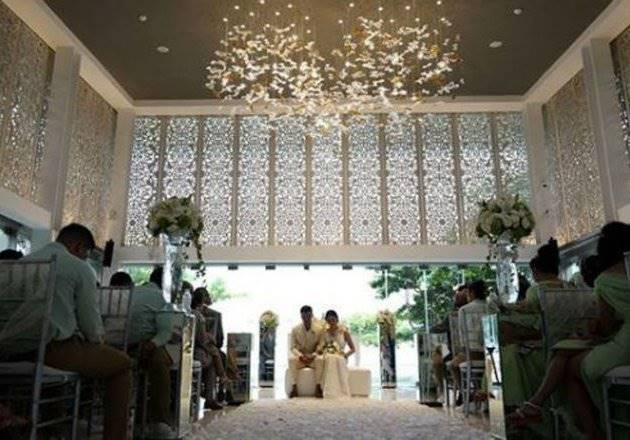 Jewel Box, tempat pemberkatan Chico Jerickho dan Putri Marino di Sofitel Bali Nusa Dua (Foto: Instagram Chico)