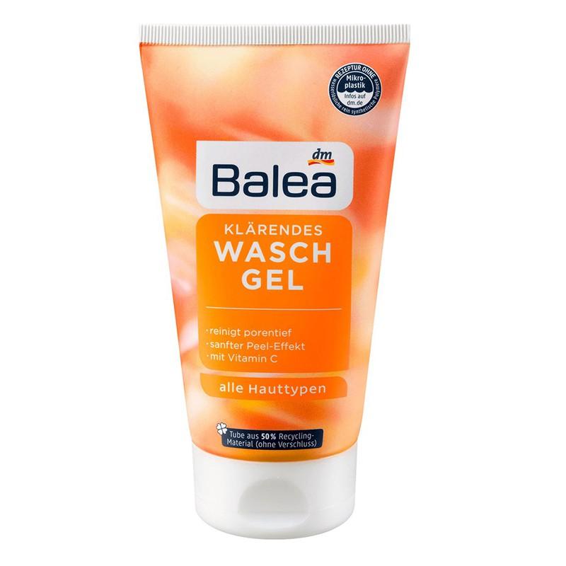 德國Balea維他命C去角質洗臉凝膠容量:150ml澄清的Balea 維他命C具有令人振奮的柑橘香氣,由於配方溫和,可以使皮膚和感官清爽。為此,去除毛孔中的雜質,去除化妝品,並具有輕微的脫皮效果-徹底
