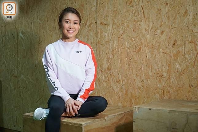 健身教練Cathy Luk(胡振文攝)