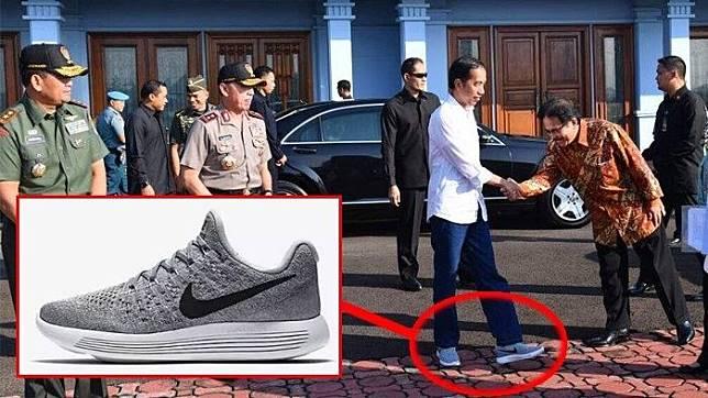 268e0cc3c7f6a Ini Harga Sepatu Nike yang Dipakai Presiden Jokowi
